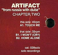 ARTIFACT - From Russia With Dubz Chapter