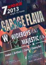 Wideboys & MC Majestic в Москве!