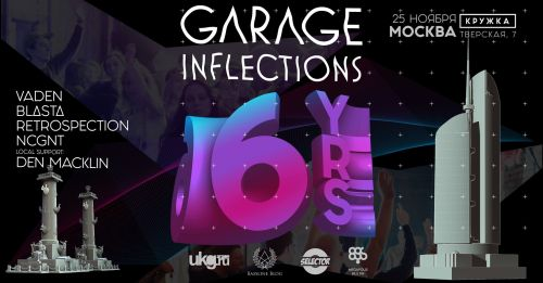 Garage Inflections 6 Yrs in MSC