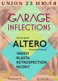 Garage Inflections feat Altero @ Union Bar (SPb)